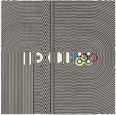 Mexico 88 Olympics Logo