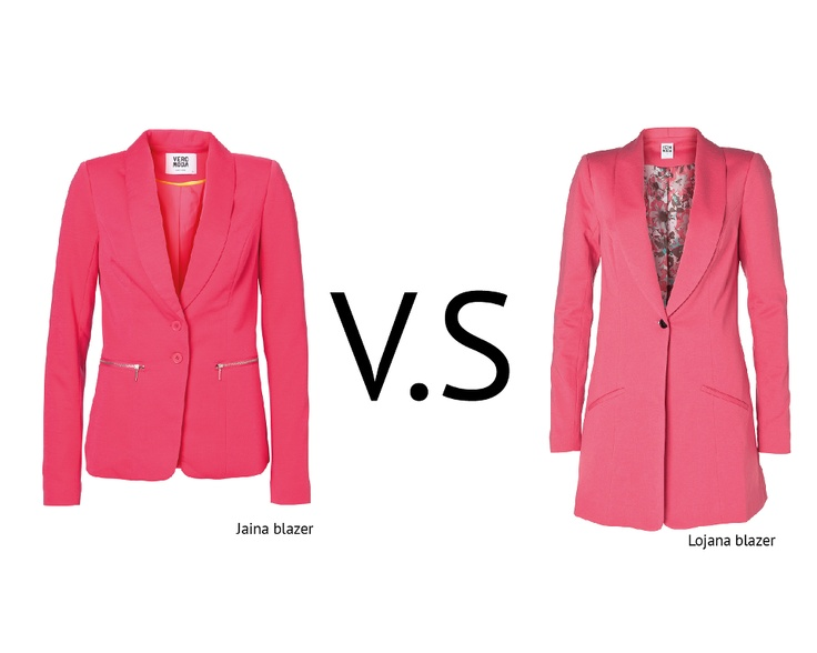 Do you like SHORT or LONG BLAZERS?  #long #short #blazer #pink #color #outfit #girl #women #clothes #trend #fashion #style #look