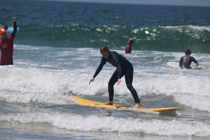 Learn to surf with San Diego Surf School. We offer private surf lessons, semi-private lessons , SUP lessons, kids surf camps and group surfing lessons. #learnsurfing