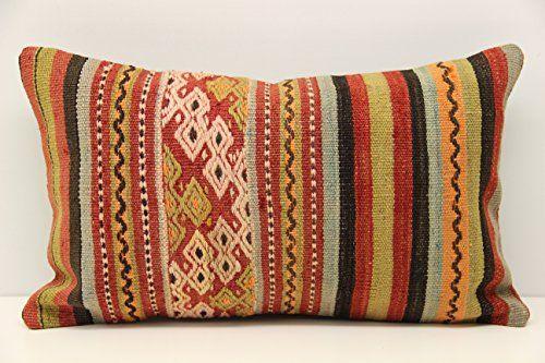Boho kilim pillow cover 12x20 inch (30x50 cm) Armchair Pi... https://www.amazon.com/dp/B078NJBLJF/ref=cm_sw_r_pi_dp_x_gcorAbABPQNFE