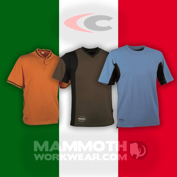 Get into Italian style this summer in a Cofra T-shirt.  Cofra's high quality and attention to detail in its garments has made them a real favourite. Originally designed for the workwear market, they come with features such as quick dry fabrics and specially placed channels to improve airflow and overall comfort. Great for working when it's hot, or looking your best out on the town.