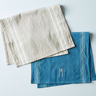 Gifts For Mom: These Absorbent Cotton Towels Feature Hand Drawn And  Hand Stitched