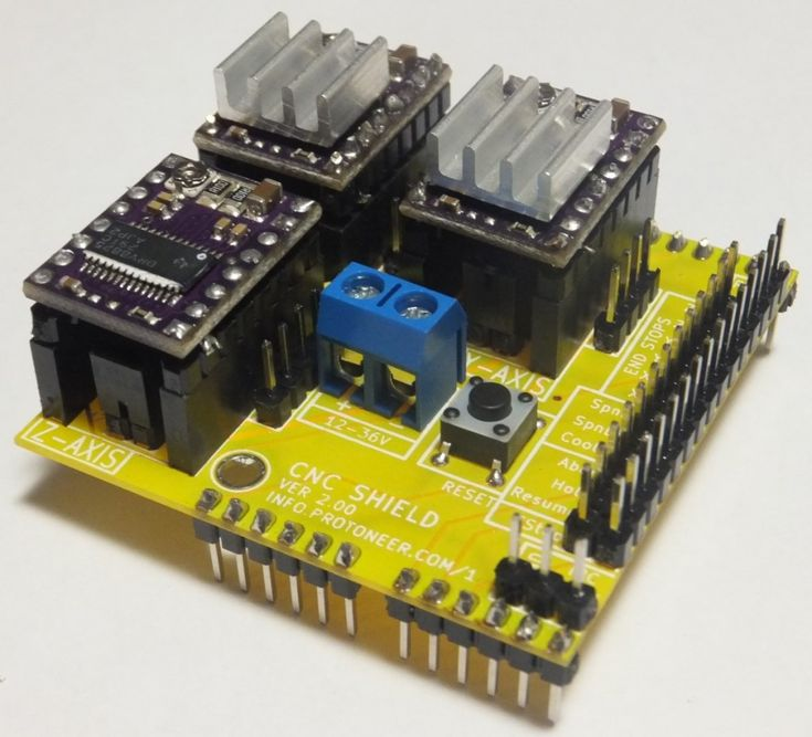 79 best arduino images on pinterest arduino projects electronics grbl compatible arduino cnc shield fandeluxe Images