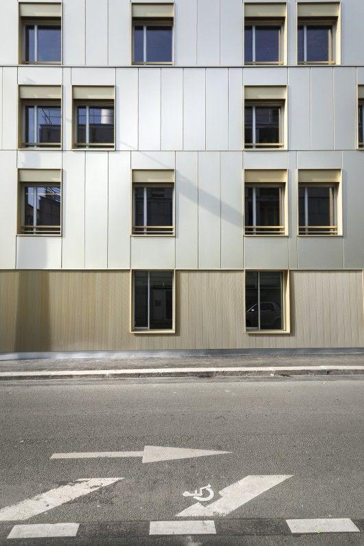 Residence Alice Guy / ADE architectes – David Elalouf & Guillaume Prognon | ArchDaily