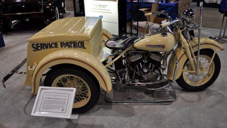 Just a car guy : AAA's 1947 Harley Servicar
