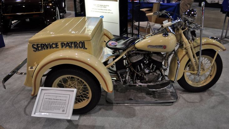 Just a car guy : AAA's 1947 Harley Servicar