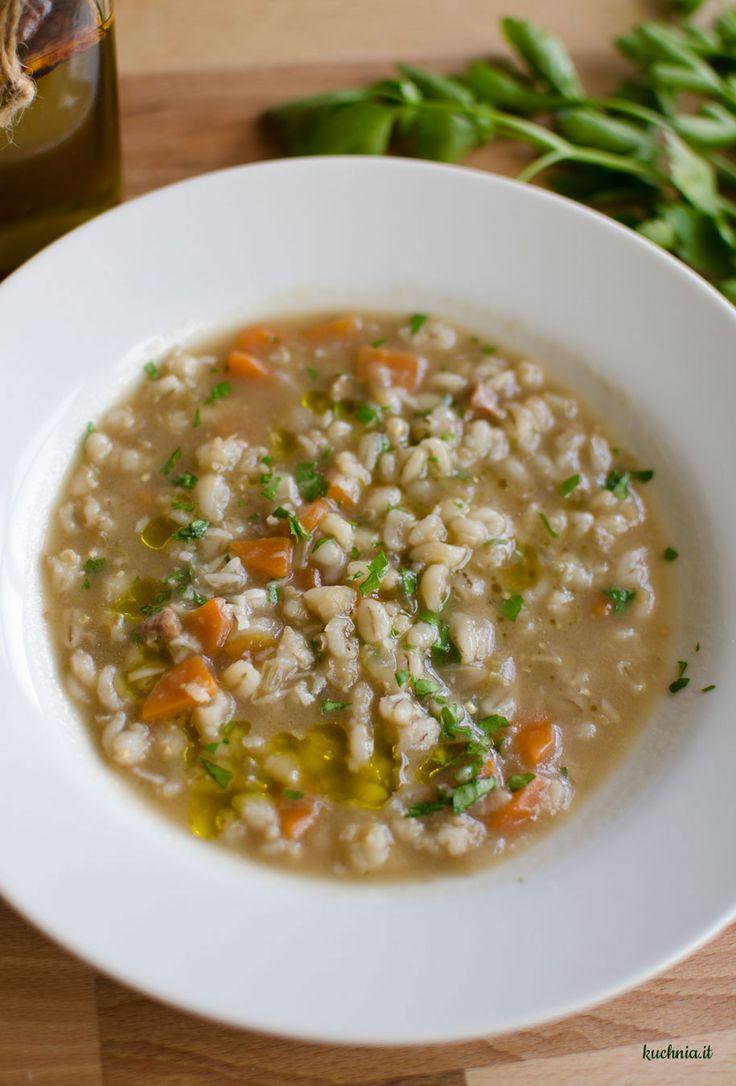 Zuppa di orzo, czyli włoski krupnik