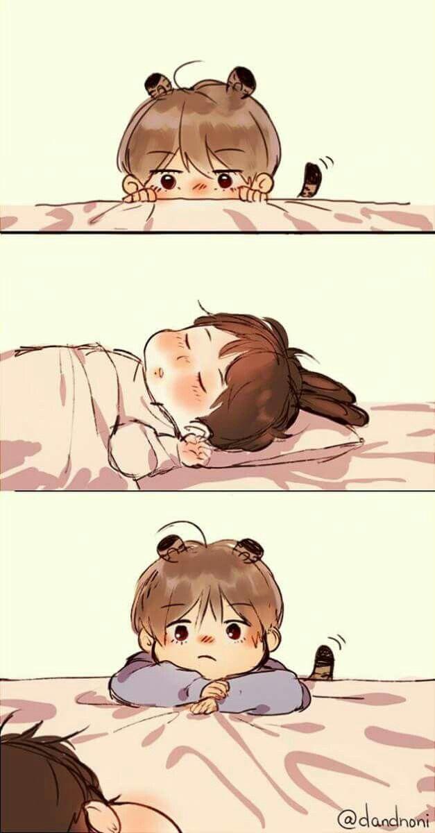 Pin By Vmei On Bts Cute In 2019 Bts Chibi Bts Taekook