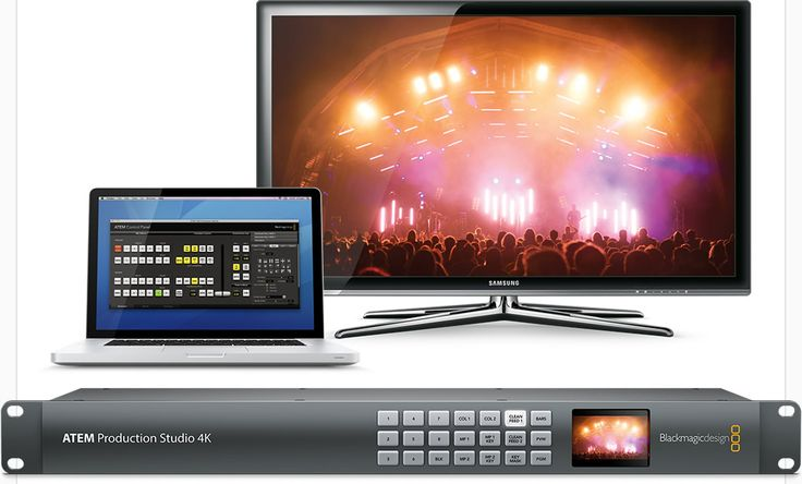 When you want fast direct control of your switcher during extremely busy live production, it's easy to add an optional dedicated hardware ATEM Broadcast Panel to your switcher.