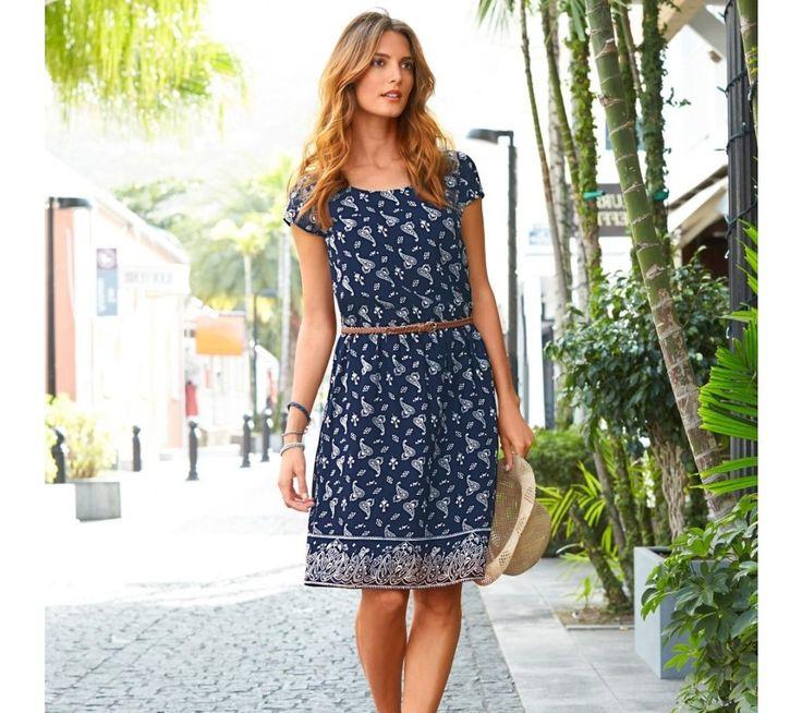 Šaty s kašmírovým vzorem | blancheporte.cz #blancheporte #blancheporteSK #blancheporte_sk #dress #saty
