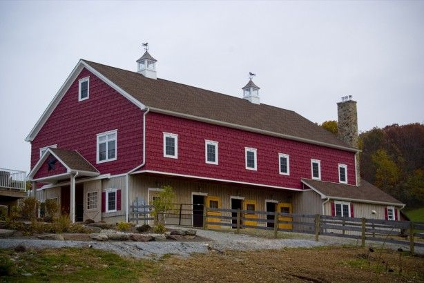 82 best images about barn living on pinterest barn homes for Bank barn plans