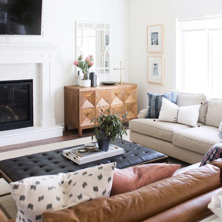 Best Home Decor Hashtags 2020 Boho Chic Family Room In 2020 Living Room Decor Neutral Family Room Decorating Cozy Living Room Design