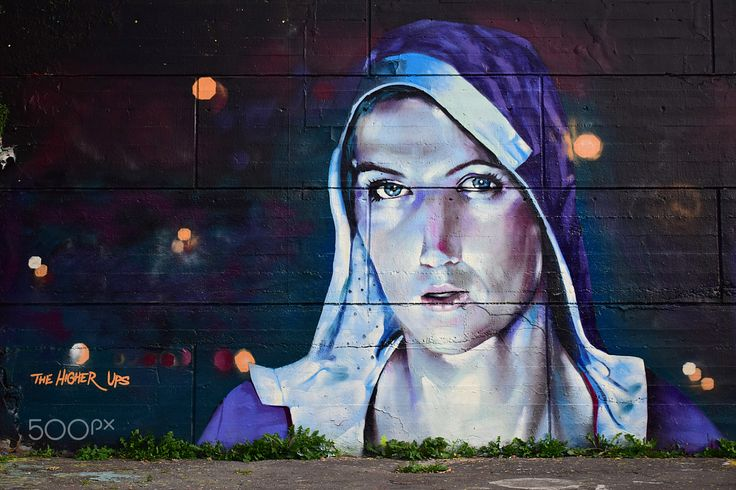 Higher Ups - Street art signed by Higher Ups shot in  Ottawa, Canada