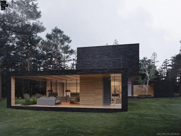 Dom Leśny wśród sosen - PLN Design