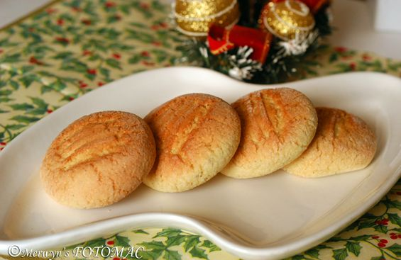 Hilda's Touch of Spice: Bolinhas (Goan Cookies/Biscuits)