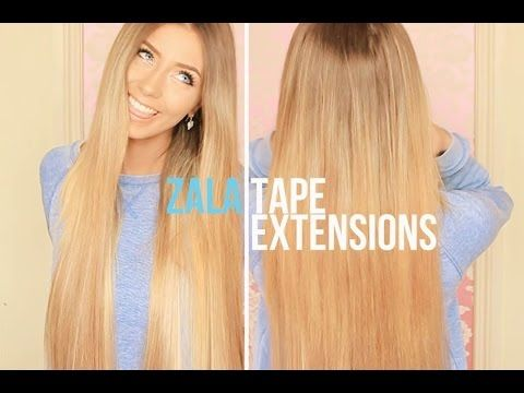 44 best zala hair video reviews images on pinterest hair beauty danielle mansutti wearing her 24 tape hair extensions by zala hair applied herself sunkissed pmusecretfo Image collections