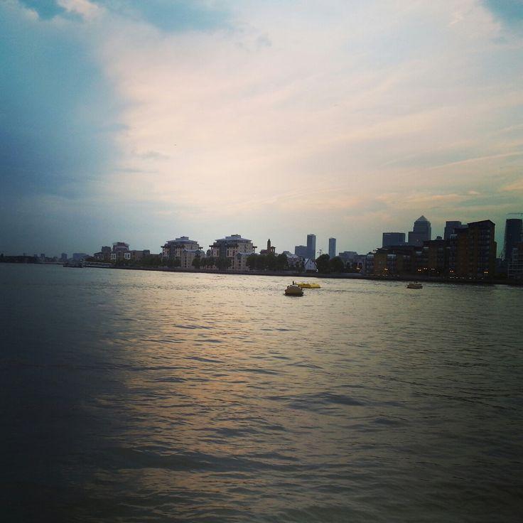 London Greenwich at sunset