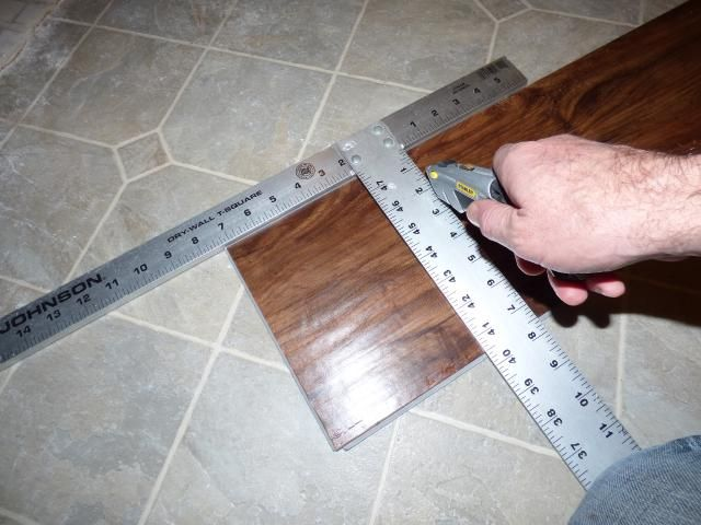 Here s the easy way to install vinyl plank flooring  You bought it because  it was. 17 best ideas about Laying Vinyl Flooring on Pinterest   Laying