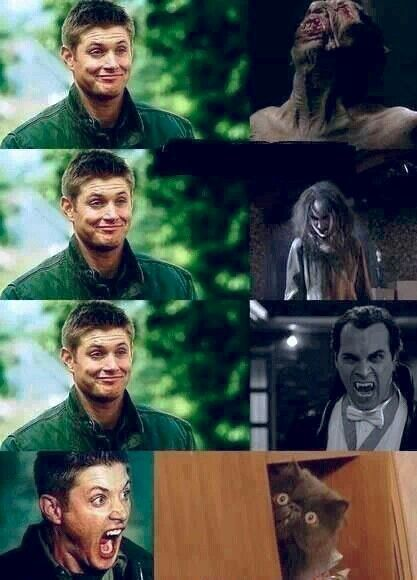 SupernaturaL ~ Dean (: I have that face of his as my lock screen