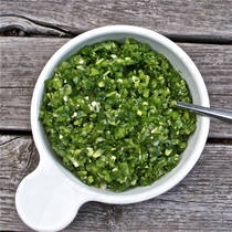About.com: Green Pepper Relish