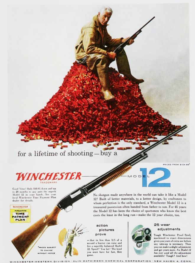 Winchester Model 12 1951 Model ,  I have one of these in my gun safe. Sweet Gun!!! Excellent for trap shooting.