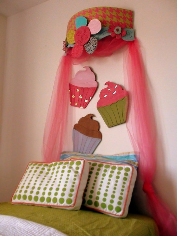 Cupcake Wall Art 45 best cup cake room images on pinterest | cupcake bedroom