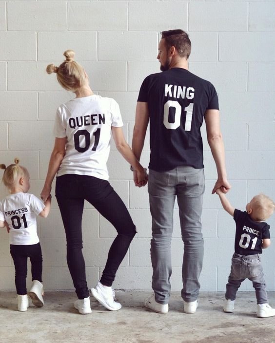 These are actually too cute. Matching family tshirts! Could make great pjs?