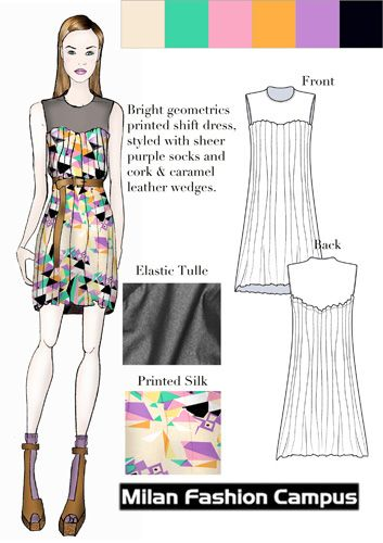 18 best images about portfolio examples on pinterest Fashion designing course subjects