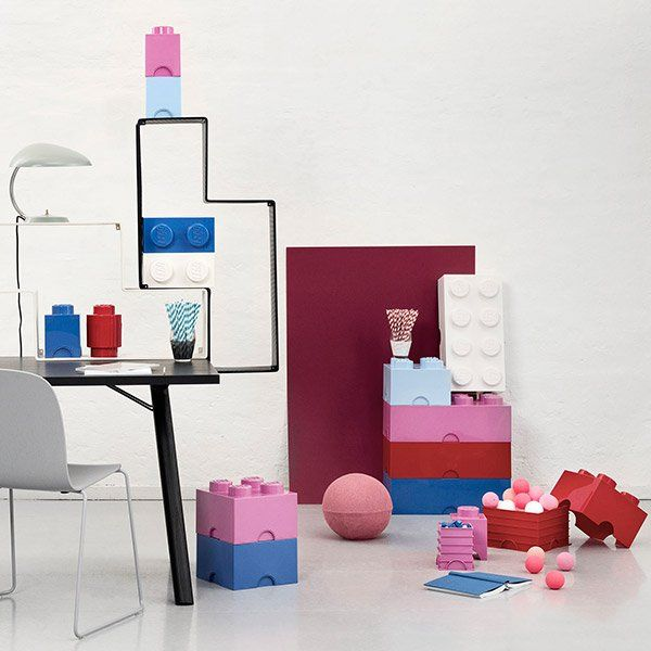Room Copenhagen LEGO opbevaringskasse. Brick 8. Vælg mellem mange farver