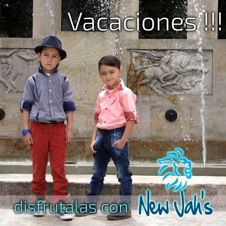 Porque nuestros niños también deben estar a la moda nuestra #MarcaDelDía: New JAHS Store trae la Colección Kids en todas las tallas y diseños, para que disfrutes con el mejor Look en esta temporada. Locales: 1016-2013-2198-1259. Cel: 3102722720. #ColombianoCompraColombiano