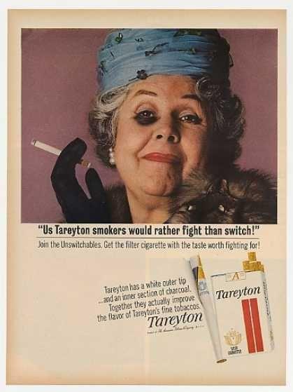 Tareyton Cigarette Smoking Lady Black Eye Fight (1965)