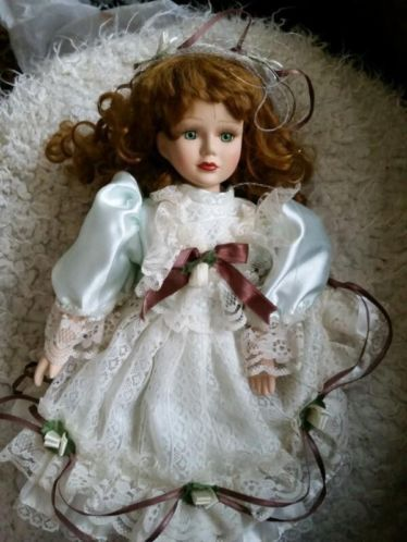 Antique porcelain doll.