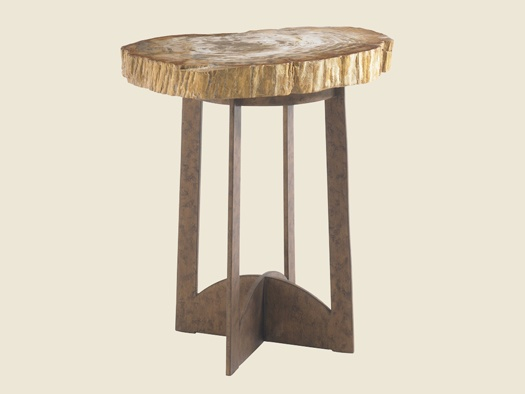 Lexington Furniture Adderley Lamp Table Rustic Bronze