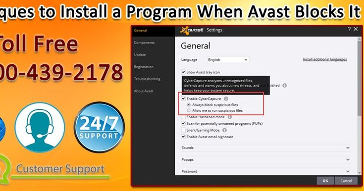 avast antivirus how to allow a program
