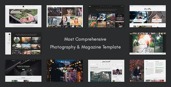 Juno - Photography & Magazine Site Template