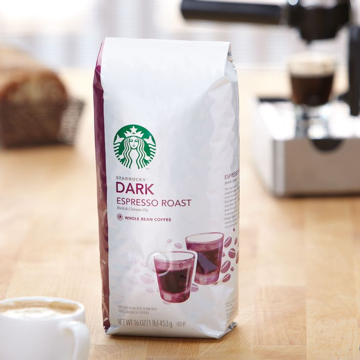 Espresso Roast  The heart of our espresso beverages. A full-bodied blend with a rich aroma and a hint of caramel. Tasting Notes  Rich & Caramelly Enjoy this with:  A chocolate croissant and a brisk walk to work. Roast Dark   $12.95 1 lb  http://websites-buy.com/starbucks-coffee-store