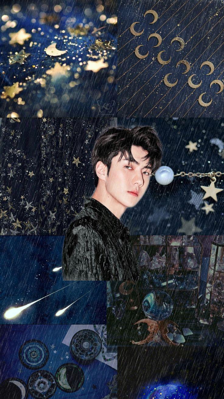 EXO Sehun aesthetic wallpaper di 2020 Seni, Pacar