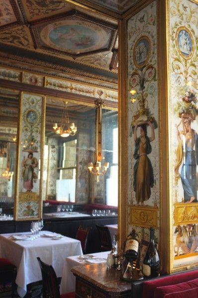 Restaurant Le Grand Véfour,  17 Rue de Beaujolais, Paris 1er.