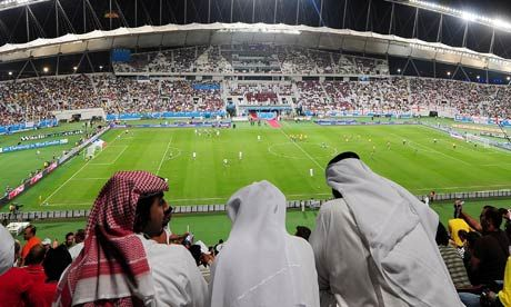 """""More workers will die building World Cup infrastructure than players will take to the field,"": an article on the mistreatment of migrant workers in the run-up to the 2022 FIFA World Cup in Qatar"""