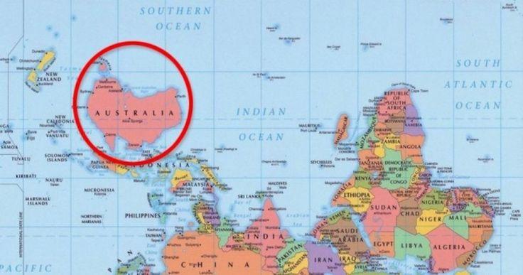 Πώς φαίνεται ο κόσμος μέσα από 7 διαφορετικούς χάρτες. Crazynews.gr