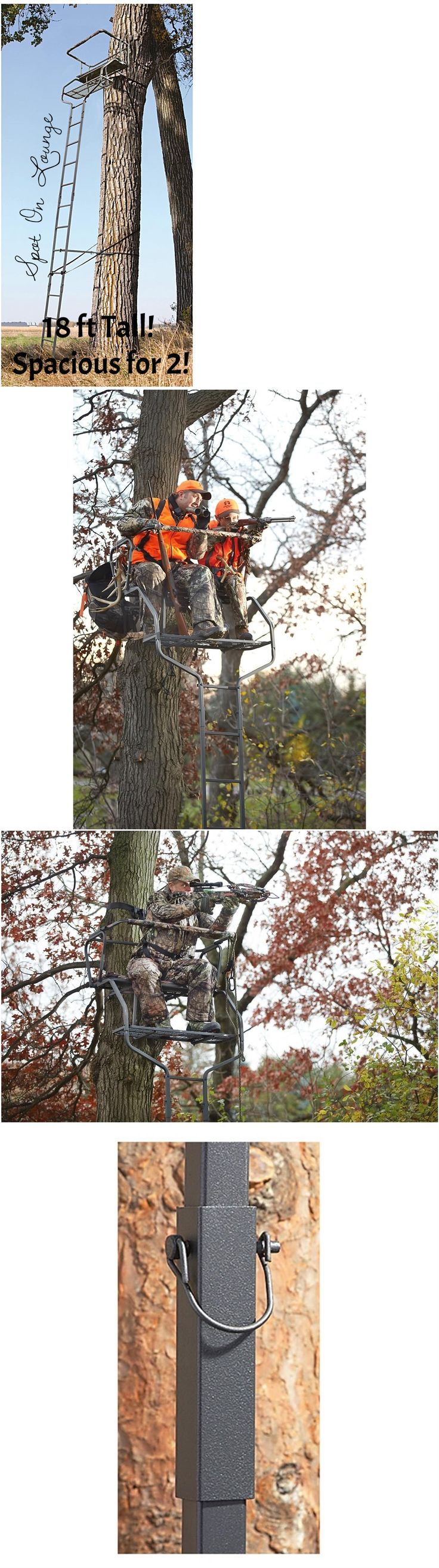 17 best ideas about tree stand hunting on pinterest deer for Climbing tree stand plans
