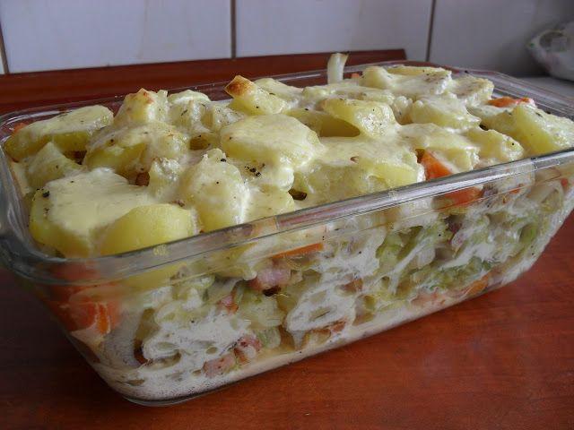 Lekcje w kuchni: Zapiekanka z ziemniakami i kapustą
