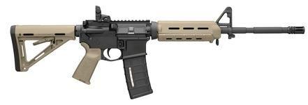 "Bushmaster AR15 MOE Mid-Length .223/5.56, 16"" Chrome-Lined Barrel, Flat Dark Earth"