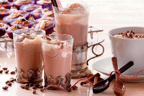 Opskrift på Kaffechokolade fra - Hjemmet
