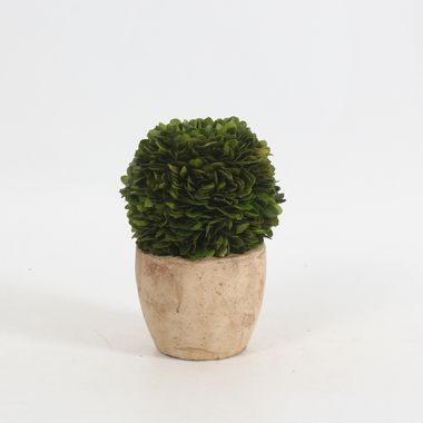 """Boxwood Ball Artificial Topiary 7.5"""""""""""