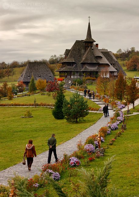 Barsana Monastery, Maramures, Romania