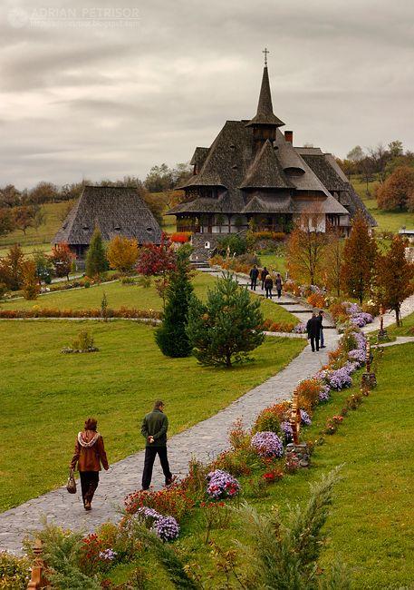 Monastirea Barsana, Maramures, Romania