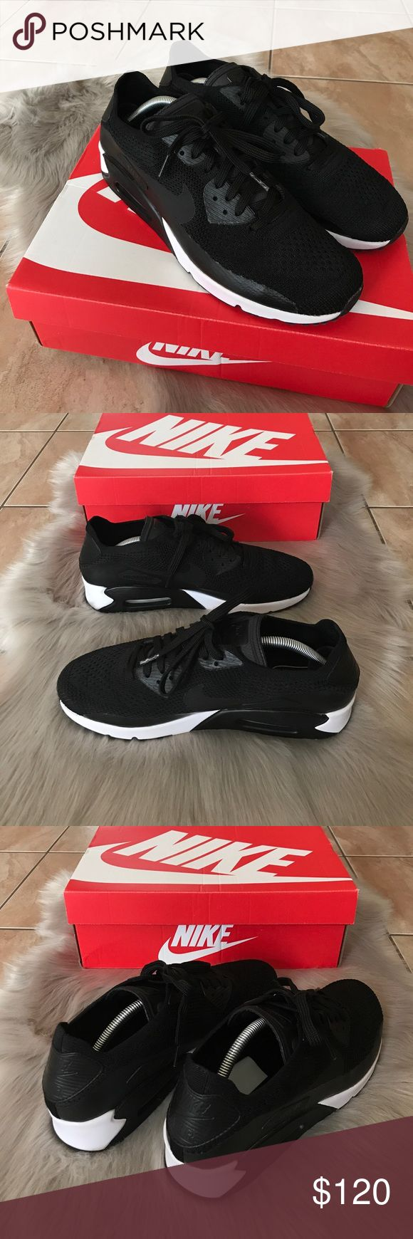 Nike Air Max 90 Ultra 2.0 Flyknit Nike Air Max 90 Ultra 2.0 Flyknit   - Almost like new, lightly worn once!  -Size 10 -Will double box upon ship!  -Ship from Los Angeles, CA.  -Ship same or next business day! - No pricing discussions on comments below, ONLY submit offer.   Tags: Supreme Box Logo Shirt Hoodie Bape Chanel Louis Vuitton Vintage Tee Palace LV wallet Card Wallet Style Accessories Gucci Snake Belt Travel Passport Common Projects Goyard Duffle Bag Backpack Jordan Nike Yeezy Nike…