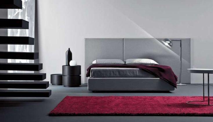 I colori adatti per le pareti di casa - Camera da letto grigia