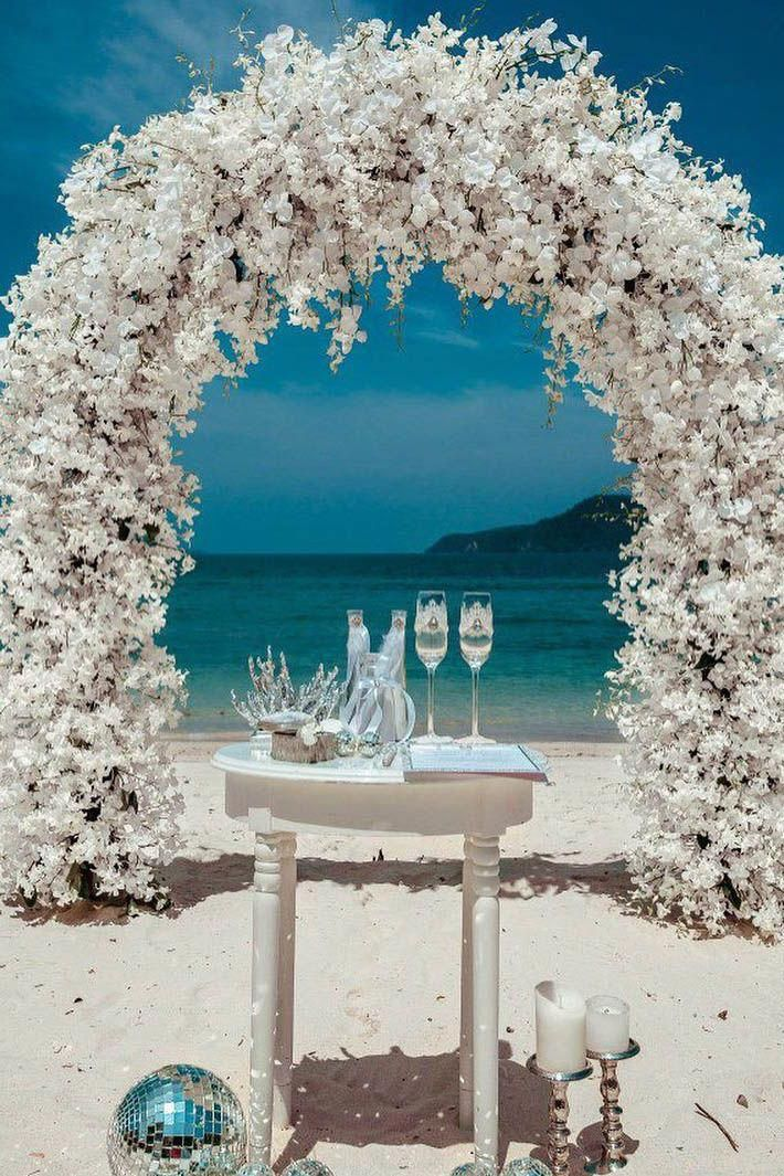 Adventurous Separated Beach Wedding Ideas 100 Money Back Guarantee Arch Decoration Wedding Wedding Arch Beach Wedding Decorations